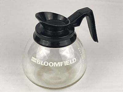 Bloomfield 12 Cup Commercial Coffee Pot Decanter Carafe for Regular Black