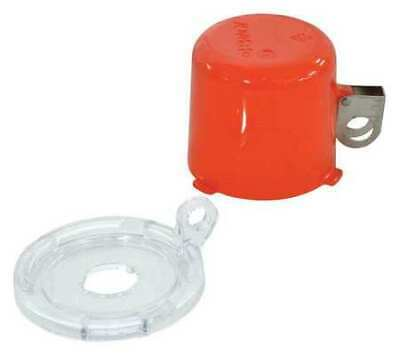 BRADY 134018 Push Button Lockout, 16mm, Plastic