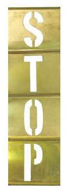 CH HANSON 10178 Stencil Kit, Brass, 1/2 in.