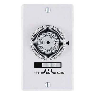 "4-19/32"" Wall Switch Timer, Intermatic, KM2ST-1G"
