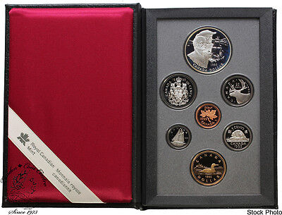 Canada 1995 Hudson's Bay Double Dollar Proof Coin Set