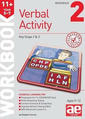 11+ Verbal Activity Year 5-7 Workbook 2: Including Multiple Choice Test Techniqu