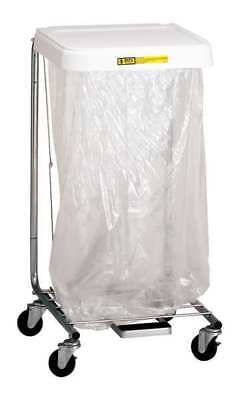 R&B WIRE PRODUCTS INC. 692 Laundry Hamper Cart, 1 Comp, Gry, 3.5 cu ft