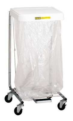 R&B WIRE PRODUCTS INC. 692/28 Laundry Hamper Cart, 1 Comp, Gray, 7 cu. ft