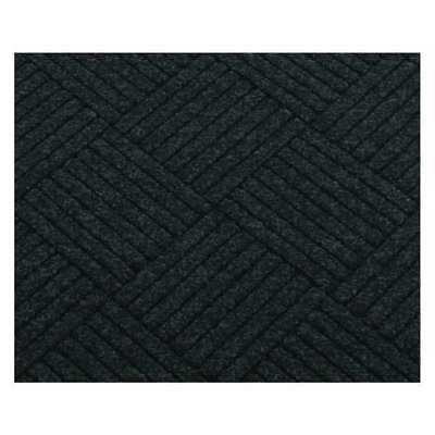 Carpeted Entrance Mat,Black,3ft. x 4ft. CONDOR 26G847