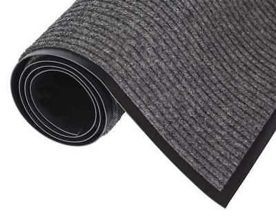 CROWN NR 0046GY Wiper/Scraper Mat,Gray,6 ft. L x 4 ft. W