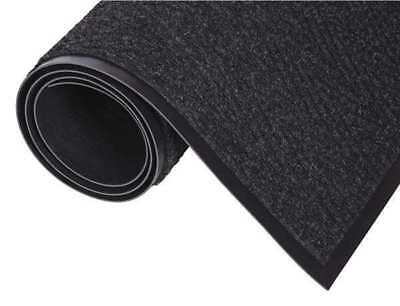 CROWN CN 0046CH Wiper/Scraper Mat,Charcoal,6ft L x 4ft W