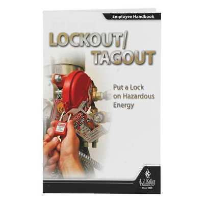 JJ KELLER 40345 DVD Training,Eng,Lockout Tagout,PK10 G5091101