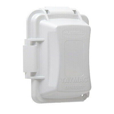 """RACO MM420W While In Use Cover,2-3/4"""" D,1 Gang,White"""