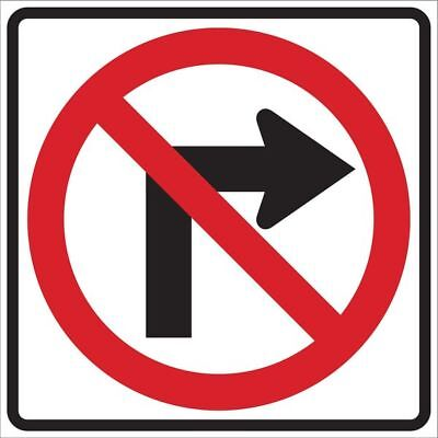 Traffic Sign,24 x 24In,R and BK/WHT,SYM