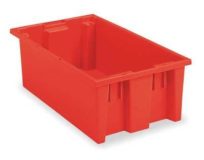 "Nest and Stack Container, 19-1/2""L, Red AKRO-MILS 35200RED"