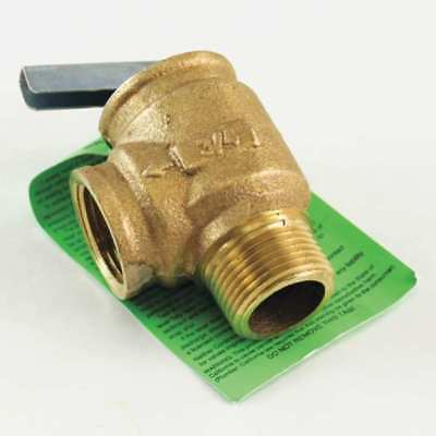 "Water Relief Valve,3/4"",30psig,535000Btu CONBRACO INDUSTRIES 10-407-05"