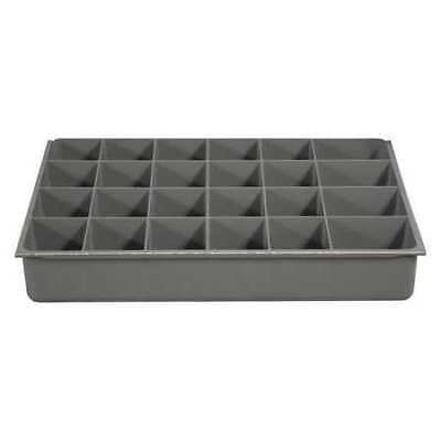 DURHAM 124-95-24-IND Compartment Box,24 Compartments,40 lb. G6211269