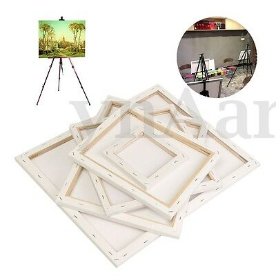 White Blank Square Canvas Wooden Frame Board For Art Artist Oil Acrylic Painting