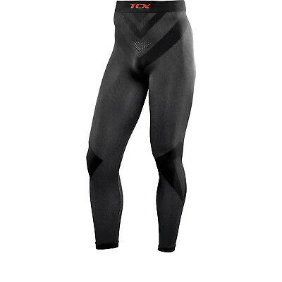TCX All Season Long Motorcycle Base Layer Pants Motorbike Bike Underwear Black