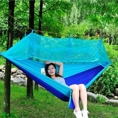 Travel Hammock Light Portable Camping Hanging Nylon Bed Outdoor Swing Hammock