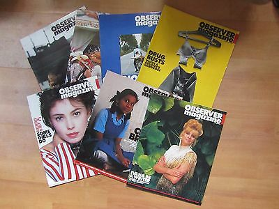 Job Lot Of 20 Vintage Observer  Magazines - All Early 1990's
