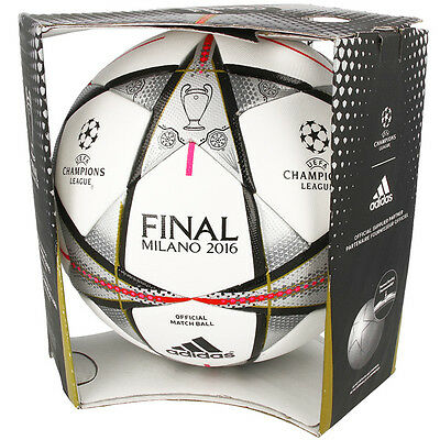 Adidas Matchball Finale Milano 2016 UEFA Champions League Spielball AC5487 BALL
