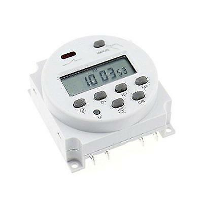 Baomain CN101A AC 110V Digital LCD Power Programmable Timer Time Switch Relay
