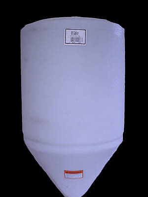"60 gallon cone bottom tank only 24"" X 42""  NO STAND"