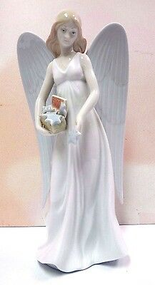 Angelic Stars (Tree Topper) Figurine 2010 By Lladro Porcelain  #8534
