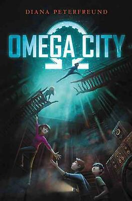 Omega City by Diana Peterfreund (English) Hardcover Book Free Shipping!