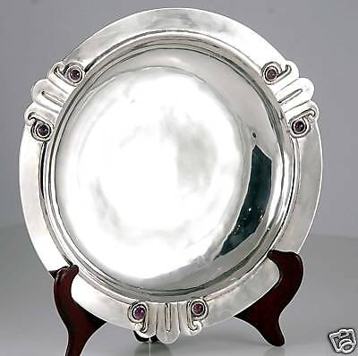 Large MUSEUM PIECE William Spratling Amethyst Sterling Silver Bowl circa 1940