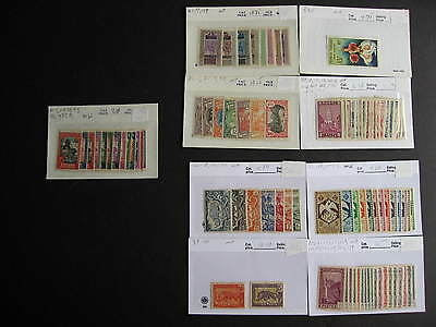 Old FRENCH COLONIES  MH group of better, pulled from a collectors hoard!