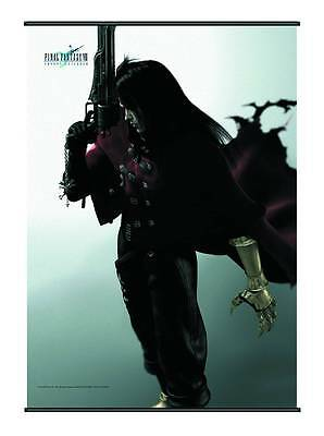 """FINAL FANTASY VII VINCENT VALENTINE 30"""" x 41"""" WALL SCROLL NEW IN SEALED PACKAGE"""