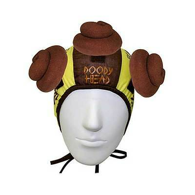Jumpin Banana Doody Head Poo Hat Throw Catch 2 Person Funny Game Novelty Gift