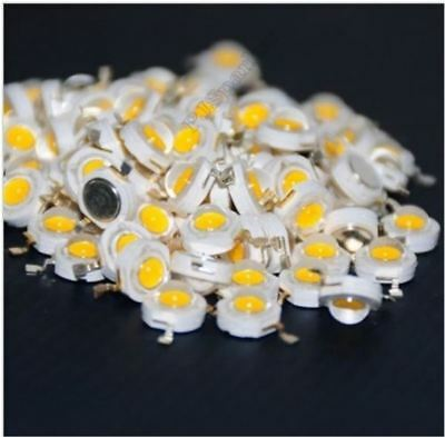 100Pcs High Power 1W Warm White Led Chip Led Beads 100-110LM New Ic