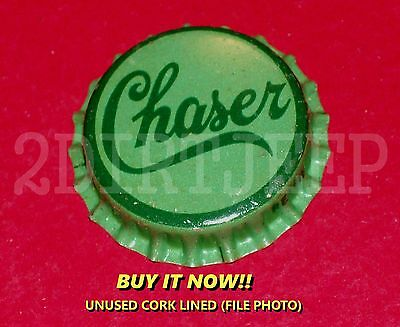 CHASER 1930's MIXER FLAVORED DRINK SODA VINTAGE POP CORK UNUSED BOTTLE CAP 30d