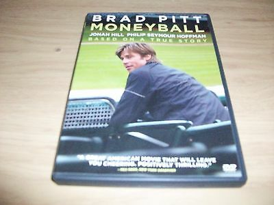 Drama Movie: Money Ball! Used & In Excellent Condition! Brad Pitt!! True Story!!