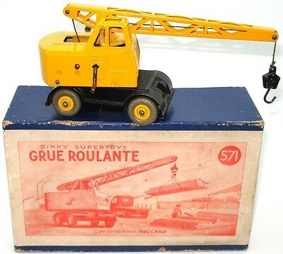 "Dinky French No. 571 Coles Mobile Crane ""grue Roulante"" - A/ Mint/boxed"