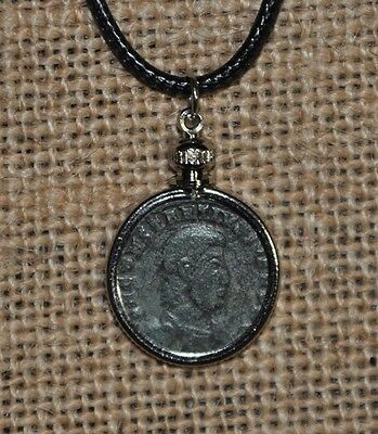 Constantius Gallus Caesar of The Roman Empire Authentic Ancient Coin Necklace