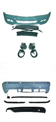 Kit Pare Chocs Avant/arriere Look M2  Bmw Serie 3 E46 Berline Ph1/ph2