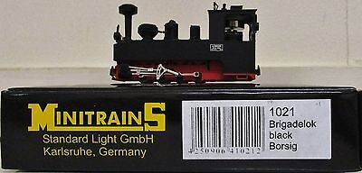 Minitrains 1021 - German Trench Train Brigadelok Loco. (009/HOe Narrow Gauge)