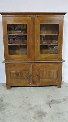 Rustic Farm Cabinet Cupboard  Hutch Bookcase
