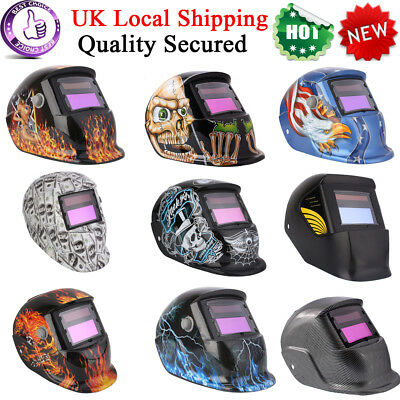 Auto Darkening Welding Helmet Mask Welders Solar Powered Protective Gear Topsell