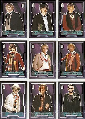 2015 Topps Doctor Who 249 Card Mini Master Set Base +  5 Inserts Sets