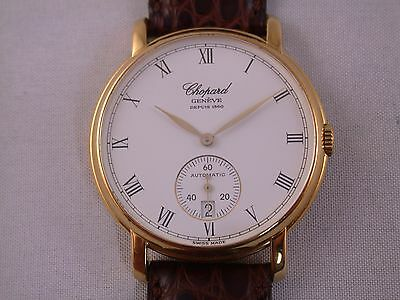 feine Herrenuhr Chopard Ref. 16/1223 Gold 750
