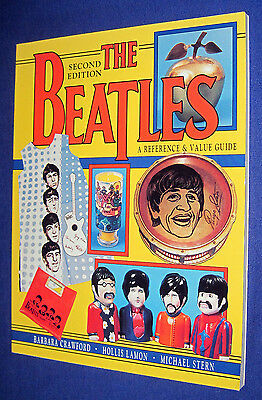 The Beatles 2nd Edition Memorabilia Reference & Value Guide 1998 PB Book!