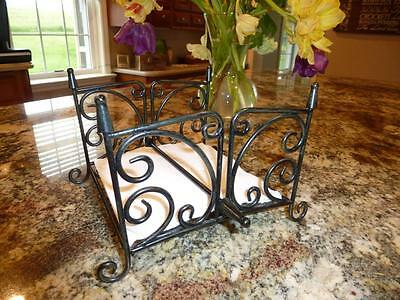 Southern Living AT HOME Willow House Estate Iron NAPKIN HOLDER Stand SLAH