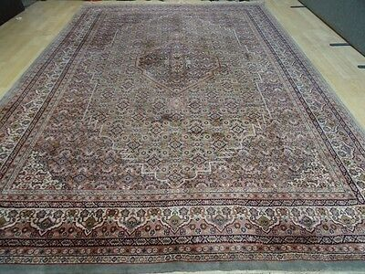 """Very Large PERSIAN design CARPET RUG HAND MADE WOOL Oriental 11ft 6"""" x 8ft 2"""""""
