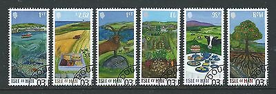Isle Of Man 2017 Green Man Set Of 6 Fine Used