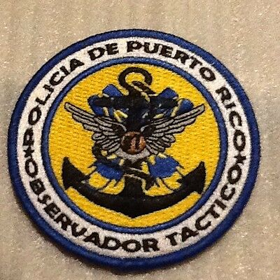 New Puerto Rico State Police Tactical Observer Unit (Air Sea & Land Operations)