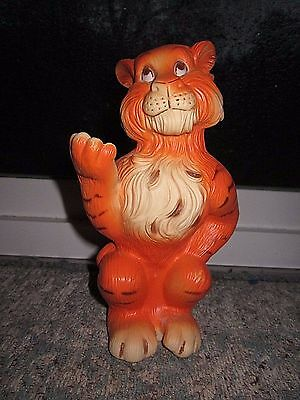 Humble Oil Co Company Esso Tiger Advertising Bank With Stopper - Free Usa Ship!