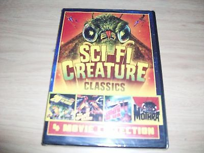 Sci Fi Creature Classics!! Brand New & Factory Sealed!!! 4 Old Classic Movies!!!