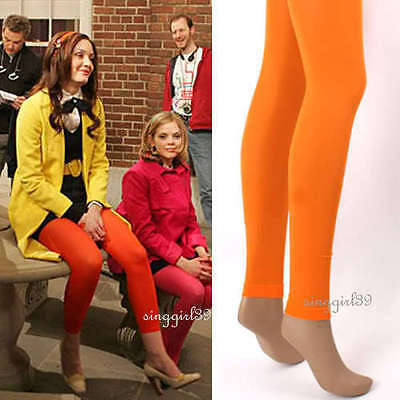 NEW ORANGE COLOUR ANKLE LENGTH TIGHTS/Stockings