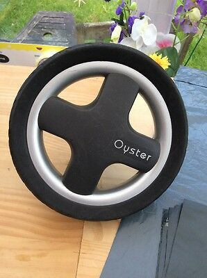 BABYSTYLE OYSTER 1 2 rear Back Wheel wheels spare replacement Grey Chrome